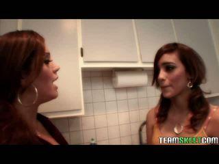 Karstās seksuālā lesbiete latina video