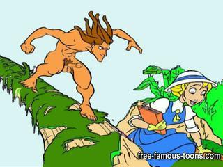Tarzan dhe adoleshent jane e pacensuruar orgji