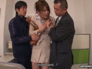 青少年 公雞 loving yuuno hoshi 是 摸索 由 two teachers