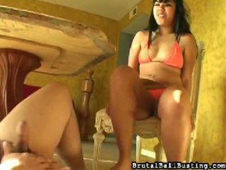 Çarpıcı ve sauna peeper