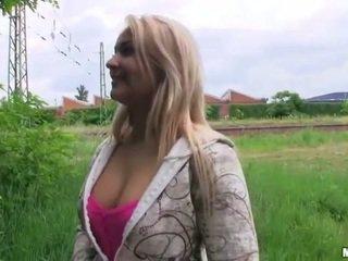 Schön tschechisch mädchen lana pounded für geld
