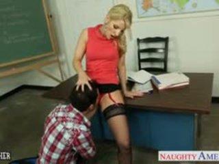 Sexy Teacher Ashley Fires Fucking