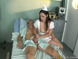 verpleegkundigen, uniform, ziekenhuis