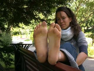 french, babes, foot fetish