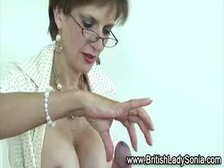 brunette, big boobs, british