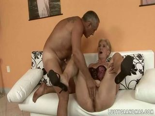 Lusty Grandmas Compilation with anuses getting ripped