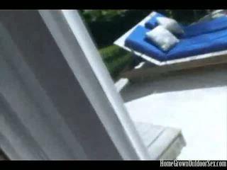 Lola Shows Off Her Outdoor Dick Suck