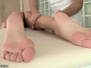 foot fetish, massage, pornstar