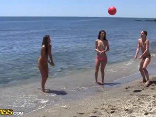 كلية جنس حزب تحت ال شمس heat من ال شاطئ