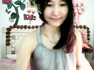 schattig, webcam, korea