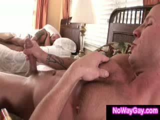 Homo creeping roommate sucks hetro guy