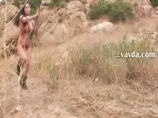 Velký babes venkovní penetration