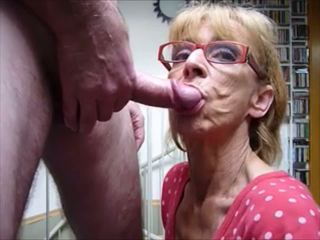 blowjobs, sperma im mund, grannies