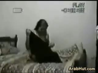 Spying On Some Horny Arab Lovers Fucking