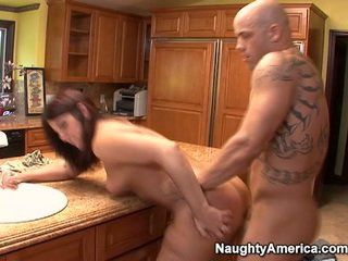 Aged Has Thang Onto Kitchen Counter