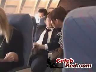 Japanese Stewardess Handjob Japanese