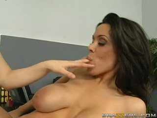 Messy Breasty Sienna West Receives Those Healthy Boobies Adored In A LesBian Action
