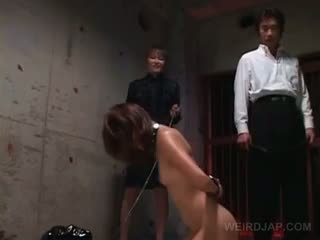 Chained Asian Sex Prisoners Pussy Nailed Hardcore