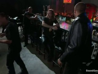 Melody jordan has gangbanged im die biker bar