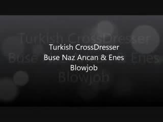 Τούρκικο buse naz arican & gokhan - τσιμπουκώνοντας και γαμήσι