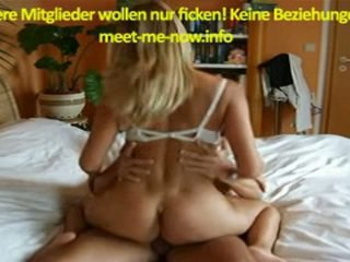 Horny Blonde With Big Ass