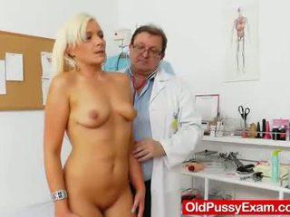 ārsts, spogulis, gynochair