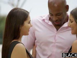 Blacked august ames と valentina nappi シェア bbc