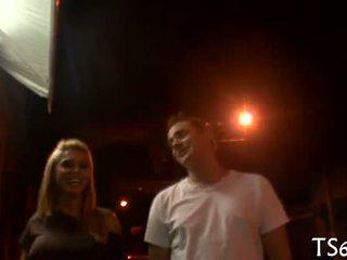 Tranny bangs rit od ji partner