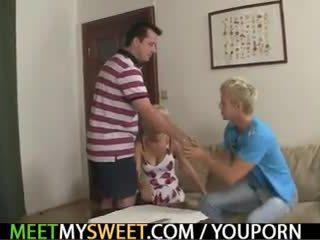 Pervertida parents joder su gf
