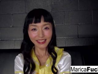 Jepang pelajar putri marica fucks dia english teman.