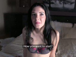Pornhub agent - anie drágám recruited mert neki első szereplőválogatás trailer
