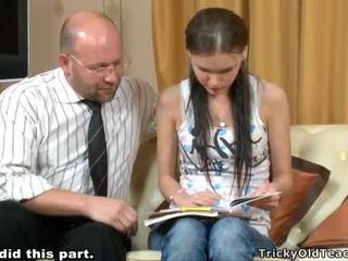 Tricky insegnante seducing studente