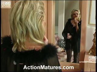 Agatha and rolf leggy mamma içinde action