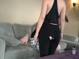 Rondborstig gf geneukt in yoga pants, gratis amateur porno video- 08