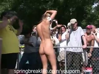 Nudist Camp Open Party