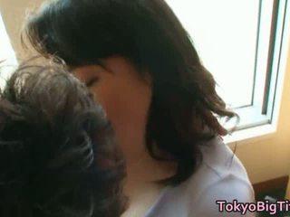 Japans model groot rondborstig neuken speelfilmen