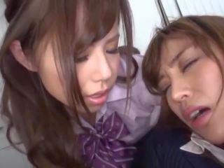 Japanese Schoolgirl Dominates and Humiliates Her Teacher