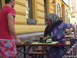 starý, babička, babička
