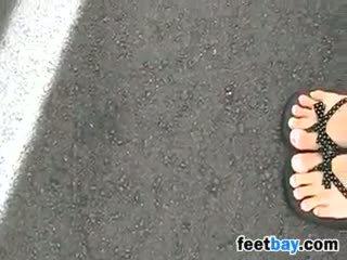 foot fetish, outdoor, amateur