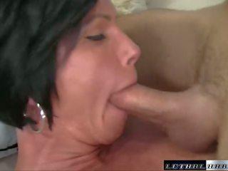 brunette, ass licking, blowjob