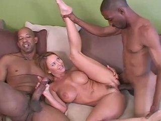 groepsseks, hoorndrager, interraciale