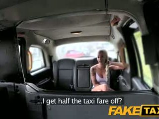 Faketaxi Backseat Fuck For Free Cab Ride