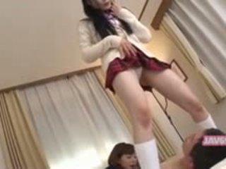 Mooi seductive koreaans meisje neuken