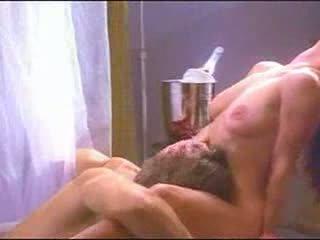 porno, ciało, lizanie