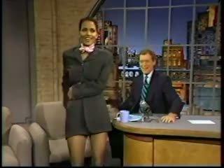 Halle Berry's Super Crossed legs