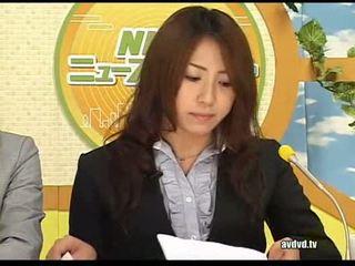 Japán newsreaders ayumu sena és fuuka minase squirting l