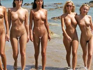 Naken beach mode show 2
