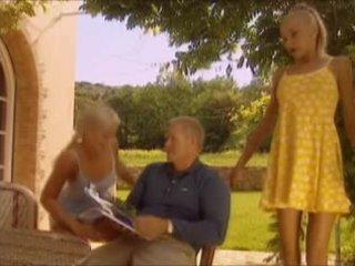 blondīnes, vecs, frants