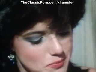 Christy canyon, zaķis bleu, blondi uz vintāža sekss filma