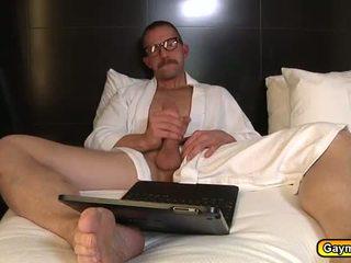 kerl, big dick, homosexuell